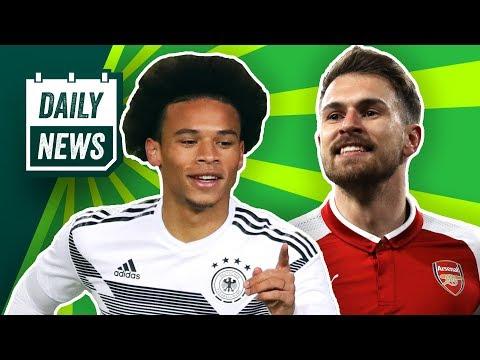 Ramsey zum FC Bayern? DFB Team: Sané und Gnabry überzeugen! PSG-Ausschluss aus der Champions League?