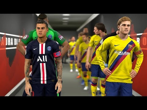Barcelona vs PSG – Potential Lineup Next Season 2019/20 ft Griezmann , Neymar , Coutinho