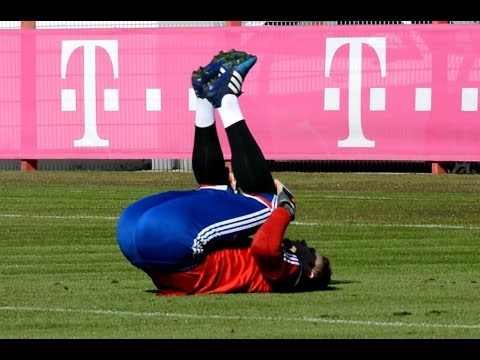 Manuel Neuer – warm up exercises – Aufwärmen | FC Bayern Munich Goalkeeper training