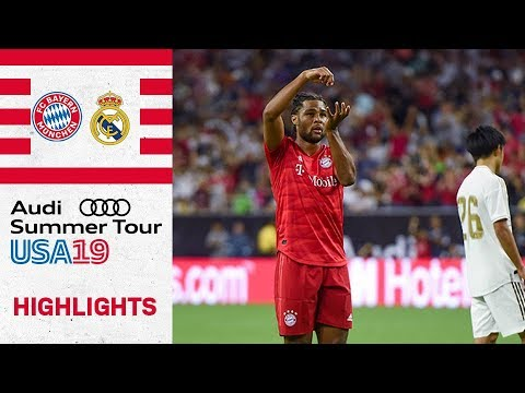 Gnabry secures royal victory over Madrid | FC Bayern vs Real Madrid 3-1 | Highlights – ICC 2019