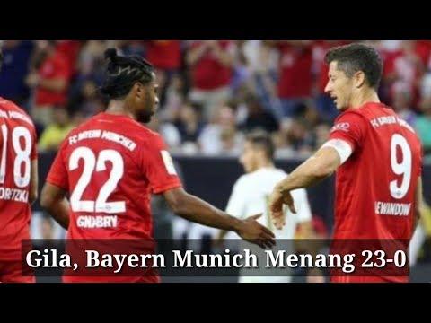 Gila, Bayern Munich Menang 23-0