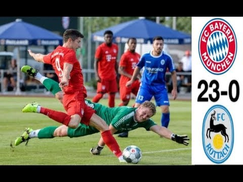 FC Bayern Munich VS FC Rottach Egern 23-0//All Goals & Highlight