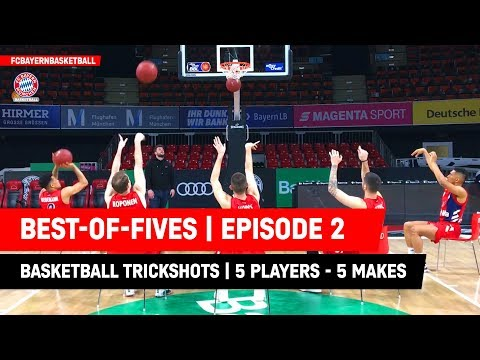 Best-of-Fives | Ep2 | FC Bayern Basketball Trickshot Tuesday