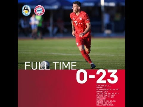 Bayern Munich Romp to Brutal 23 0 Victory Over Amateur Side FC Rottach Egern