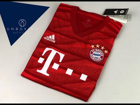 FC Bayern München Home Jersey 'Season 2019/2020' | UNPACKING | football jersey | 2019