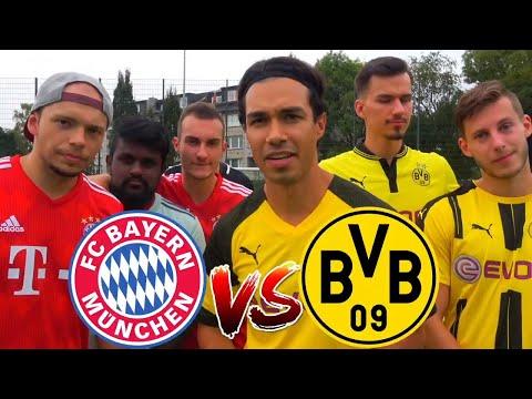 DORTMUND (REUS) vs FC BAYERN (LEWANDOWSKI) FUßBALL CHALLENGE | BROTATOS