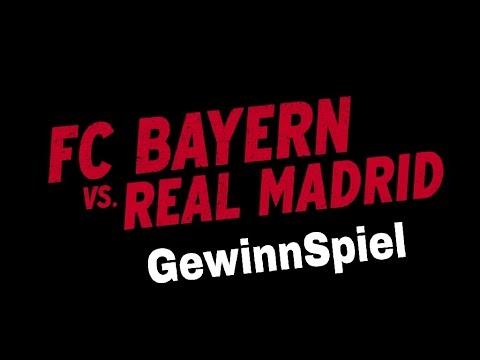FC Bayern München VS Real Madrid 2017 / GewinnSpiel  Euer tipp?