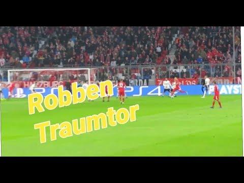 Robben Traumtor !!! Fc Bayern Stadionvlog +Gewinnspiel | dennis joonge