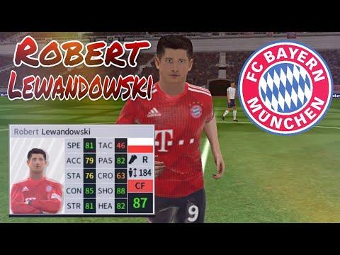 Robert Lewandowski • Skills & Goals – Bayern Munich • Dream League Soccer 2018