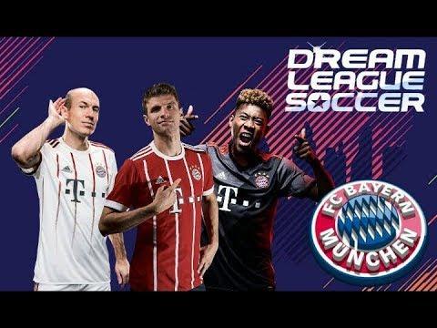 Plantilla FC Bayern Múnchen 2017-2018 / DREAM LEAGUE 18