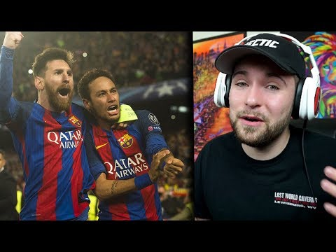 NFL Fan Reacts To BARCELONA VS PSG 6-1 BIGGEST COMEBACK IN HISTORY