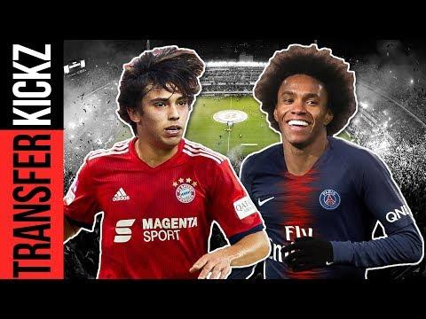 Bayern heiß auf Benfica-Talent! Willian als Neymar-Ersatz zu PSG? | TransferKickz