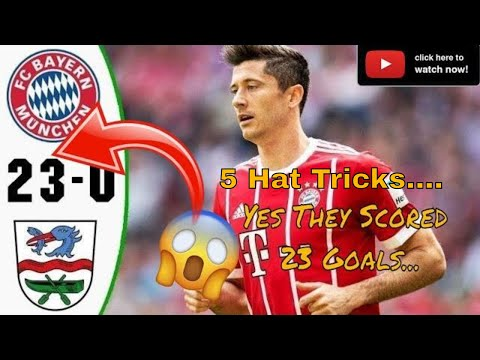 YES!.. Bayern Munich Scored 23 GOALS vs Rottach-Ergen (All Goals) 8/8/2019 HD
