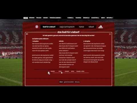 """FC Bayern München – Bayrische Welle – Tim Bendzko / """"Liadl für's neue Auswärtsleiberl"""""""