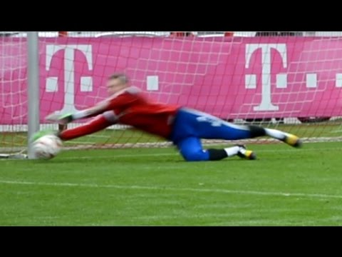 Manuel Neuer – Goalkeeper Training FC Bayern Munich – part 3