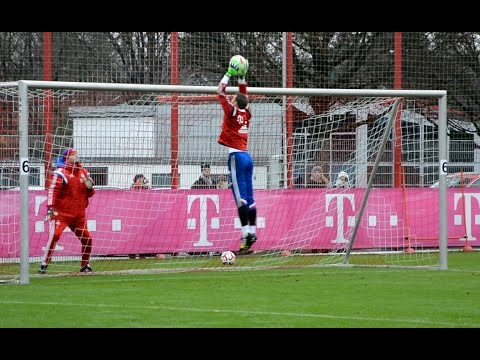 Manuel Neuer – Goalkeeper training FC Bayern Munich – part 4