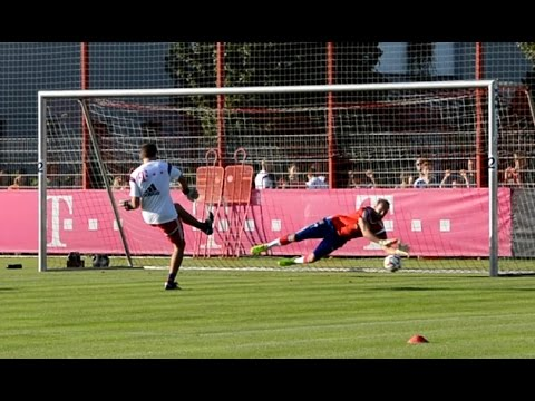 FC Bayern Munich goalkeeper training – Part 4