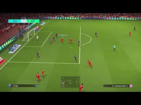 PES 2018 Prediction – Bayern Munich vs PSG (Champions League), Level: Super Star