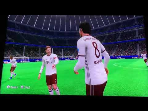 Fifa 17 (FIFA 17) Xbox 360 Gameplay – FC Bayern VS PSG