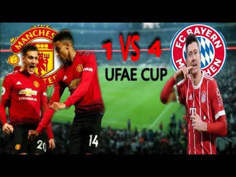 FC Bayern Munich VS Manchester United F.C Full Match 2019 HD
