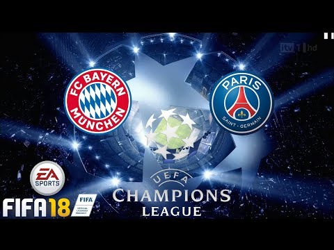 FIFA 18 Gameplay BAYERN MUNICH vs PSG  [1080p HD 60FPS]