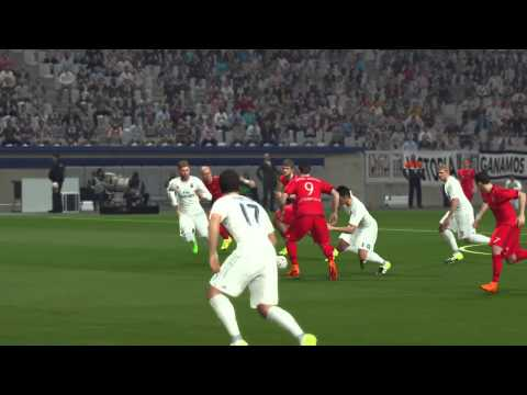 PES 2016 | Online Gameplay – FC Bayern München vs Real Madrid (PS4)
