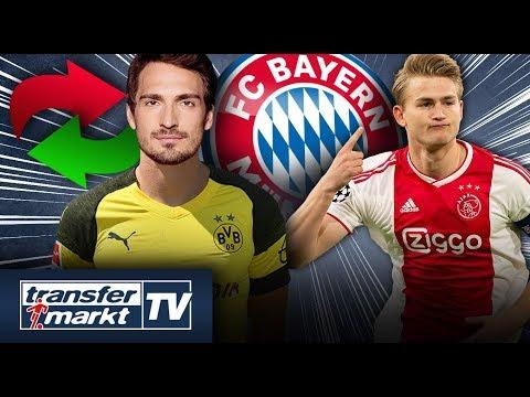 Hummels-Transfer zum BVB perfekt – Bayern bei de Ligt noch im Rennen | TRANSFERMARKT