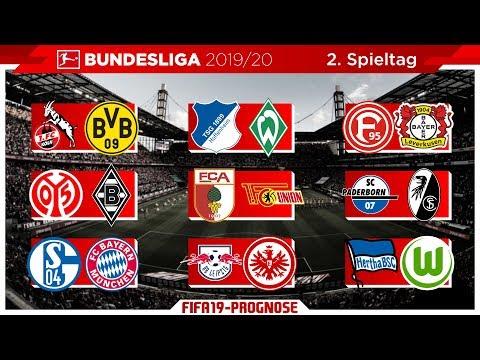 FIFA 19: Spieltag 2 – Saison 19/20 l Bundesliga – Prognose l Deutsch [HD]