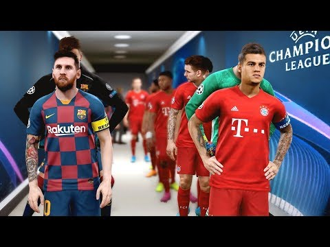 Barcelona vs Bayern (Coutinho Scored 3 Goals) UCL 2019
