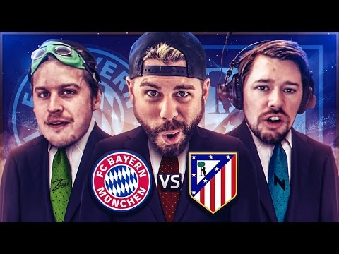REACTING TO BAYERN MUNICH vs ATLETICO MADRID with ZwebackHD + NepentheZ – Champions League Challenge