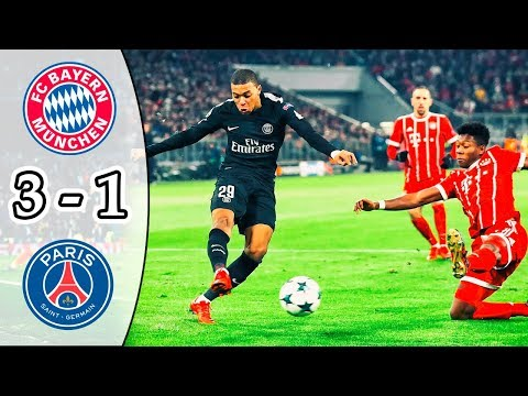 Bayern Munich vs PSG 3-1 | All Goals & Highlights | UCL 2017/18