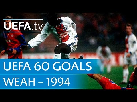 George Weah v Bayern, 1994: 60 Great UEFA Goals