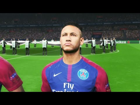 PSG vs Bayern Munich 6-0 (Neymar Scored 2 Goals) Champions League 27/09/2017 Gameplay