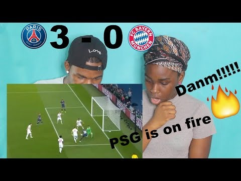 PSG vs Bayern Munich 3-0 – Highlights & Goals Champions League Reaction