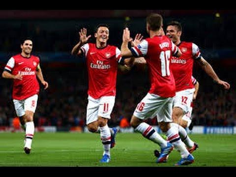 Mesut Ozil Goal vs Bayern Munich (HD)