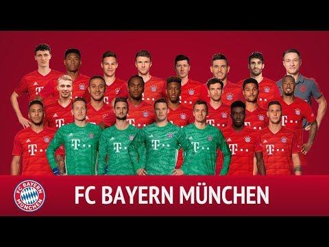 FC Bayern München Squad Pre-season 2019/20