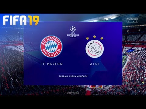 FIFA 19 – FC Bayern München vs. AFC Ajax @ Allianz Arena