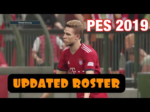 PES 2019 | FC Bayern München vs Borussia Dortmund | UPDATED ROSTER !!!
