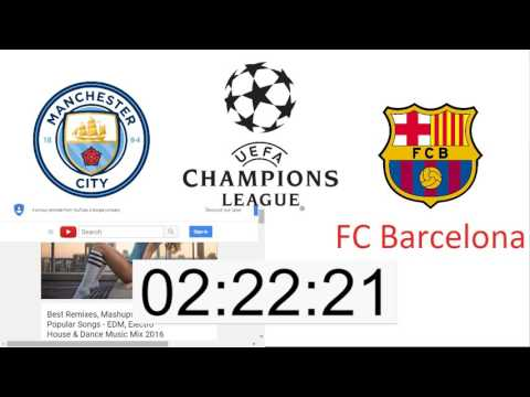 Manchester City – FC Barcelona | Champions League | Group C | Live | Livestream ESPN | 1.11.2016