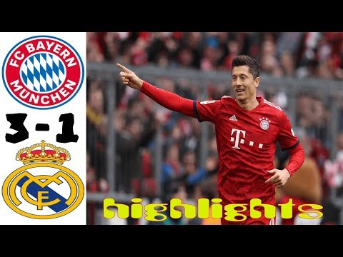 Bayern Munich vs Real Madrid 3-1 HIGHLIGHTS All Goals 21.07.2019