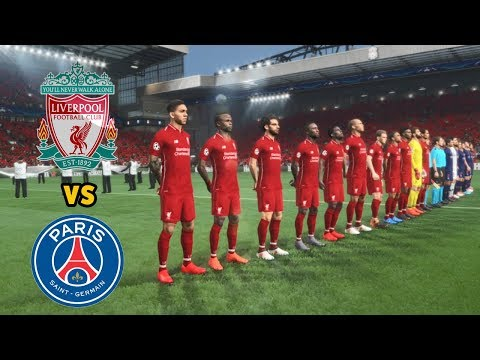 LIVERPOOL FC vs PSG – UEFA Champions League 2018-19  [UCL] – Gameplay PC