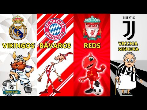 ORIGEN DE LOS APODOS DE REAL MADRID, BAYERN MUNICH, LIVERPOOL y JUVENTUS (ORIGIN OF NICKNAMES)