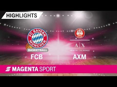 FC Bayern Basketball – Olimpia Milano | ULEB EuroLeague | Saison 19/20 | MAGENTA SPORT