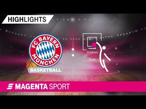 FC Bayern Basketball – Telekom Baskets Bonn | BBL Pokal, 19/20 | MAGENTA SPORT