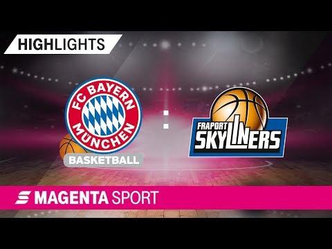 FRAPORT SKYLINERS – FC Bayern Basketball | 2. Spieltag, 19/20 | MAGENTA SPORT