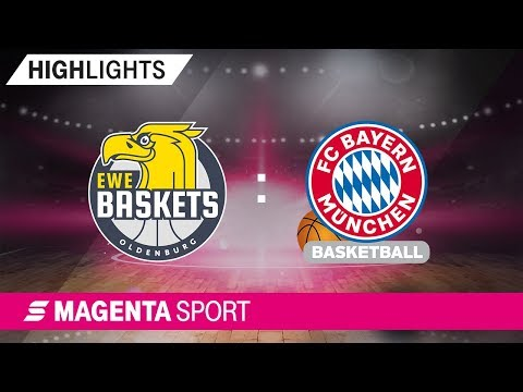 EWE Baskets Oldenburg – FC Bayern Basketball | 4. Spieltag, 19/20 | MAGENTA SPORT