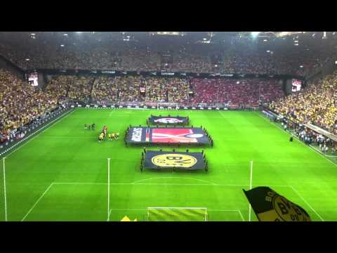 Borussia Dortmund v Bayern Munich – Players Entry & Reaction – Super Cup 2013