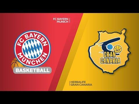 FC Bayern Munich – Herbalife Gran Canaria Highlights | EuroLeague RS Round 30