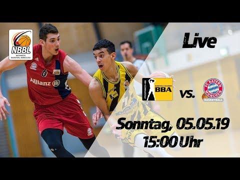 NBBL-Livestream: FC Bayern München – PORSCHE BBA Ludwigsburg