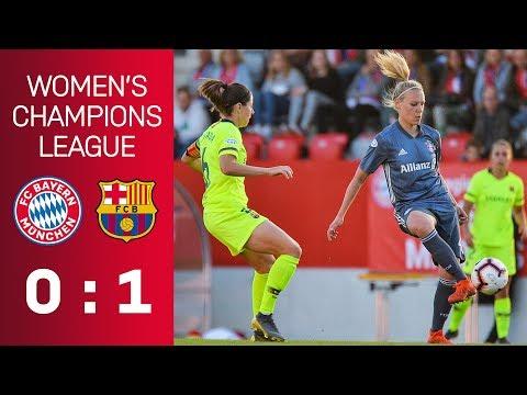 FC Bayern vs. FC Barcelona 0-1 | UEFA Women's Champions League – Semi-Final | ReLive